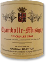 2007 Domaine Ghislaine Barthod Chambolle-Musigny Les Cras