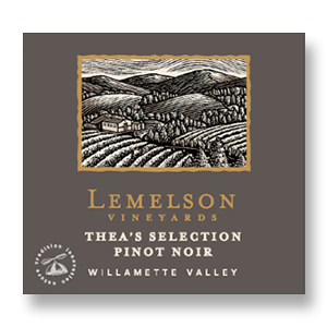 2014 Lemelson Vineyards Pinot Noir Thea's Selection Willamette Valley