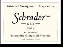 2009 Schrader Cellars Cabernet Sauvignon Giii Beckstoffer Georges Iii Vineyard Napa Valley