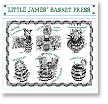 2012 St. Cosme Little James Basket Press Blanc