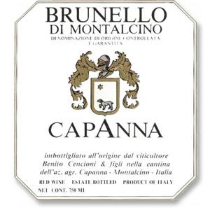 2011 Capanna Brunello di Montalcino
