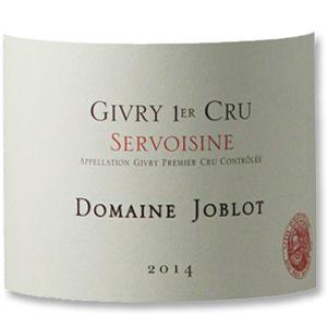 2006 Domaine Joblot Givry Clos De La Servoisine Premier Cru