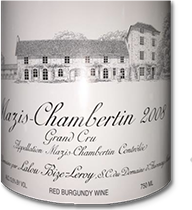2010 Domaine d'Auvenay Mazis-Chambertin