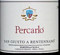 2006 San Giusto A Rentennano Percarlo Toscana Rosso