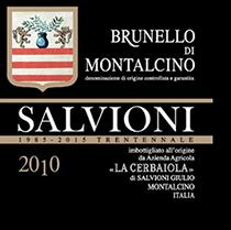 2010 La Cerbaiola (Salvioni) Brunello di Montalcino
