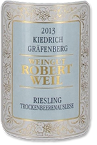 2002 Robert Weil Kiedricher Grafenberg Riesling Trockenbeerenauslese