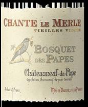 2009 Bosquet des Papes Chateauneuf-du-Pape Cuvee Chante Le Merle Vieilles Vignes