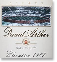 2006 David Arthur Vineyards Cabernet Sauvignon Elevation 1147 Napa Valley