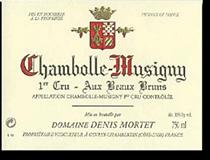 2012 Domaine Denis Mortet Chambolle-Musigny Aux Beaux Bruns
