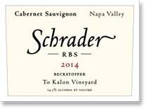2010 Schrader Cellars Cabernet Sauvignon Rbs Beckstoffer To Kalon Vineyard Napa Valley