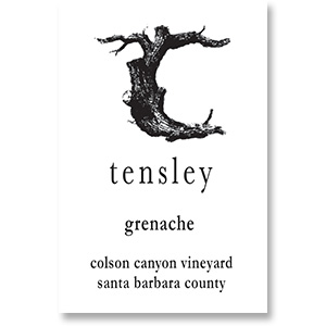2014 Tensley Grenache Colson Canyon Vineyard