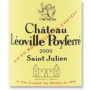 2000 Chateau Leoville Poyferre Saint-Julien