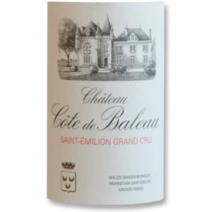 2010 Chateau Cote de Baleau Saint-Emilion