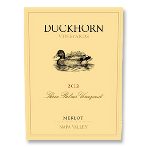 2012 Duckhorn Vineyards Merlot Three Palms Vineyard Napa Valley (in magnum)