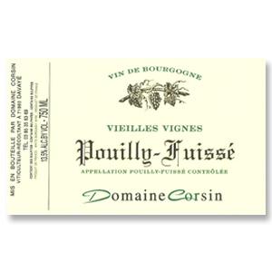 2013 Domaine Corsin Pouilly-Fuisse Vieilles Vignes