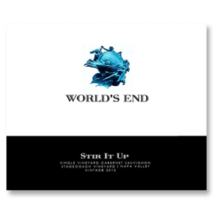 2013 World's End Cabernet Sauvignon Stir It Up Stagecoach Pritchard Hill