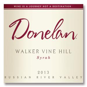 2013 Donelan Syrah Walker Vine Hill