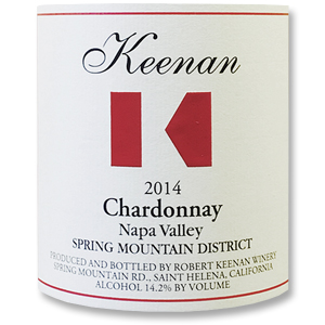 2010 Robert Keenan Winery Chardonnay Spring Mountain District