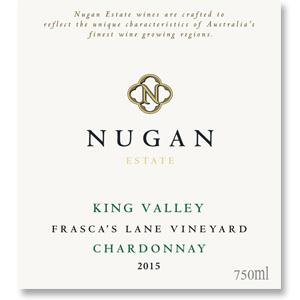 2015 Nugan Estate Chardonnay Frasca's Lane Vineyard King Valley