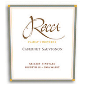 2007 Rocca Family Vineyards Cabernet Sauvignon Grisby Vineyard Yountville