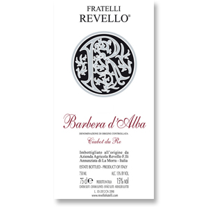 2004 Fratelli Revello Barbera d'Alba Ciabot du Re
