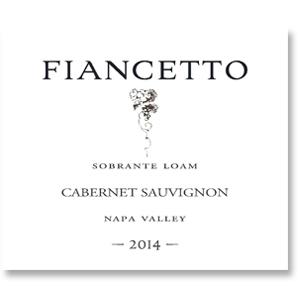 2014 Fiancetto Cabernet Sauvignon Sobrante Loam Napa Valley