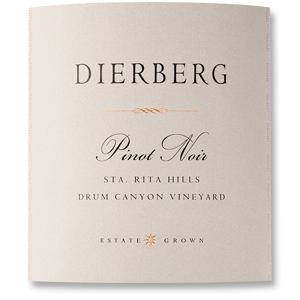 2010 Dierberg Vineyard Pinot Noir Drum Canyon Vineyard Sta Rita Hills