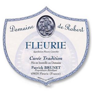 2015 Domaine de Robert Fleurie Cuvee Tradition