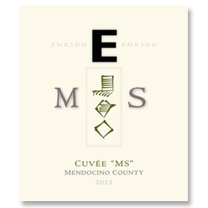 "2015 Enkidu White Rhone ""E"" Cuvee ""MS"" Mendocino County"