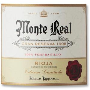 1970 Bodegas Riojanas Rioja Monte Real Gran Reserva