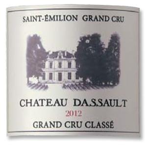2012 Chateau Dassault Saint-Emilion Grand Cru