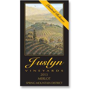 2013 Juslyn Vineyards Merlot Spring Mountain Estate Limited Release