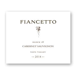 2014 Fiancetto Cabernet Sauvignon Napa Valley Block 18