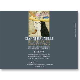 2004 Gianni Brunelli le Chiuse di Sotto Brunello di Montalcino Riserva