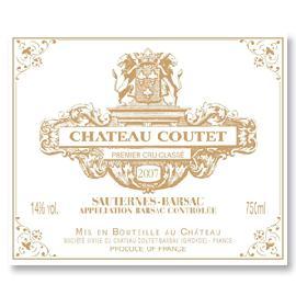2007 Chateau Coutet Sauternes-Barsac