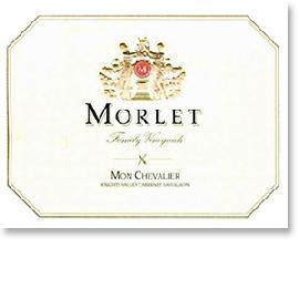 2010 Morlet Family Vineyards Cabernet Sauvignon Mon Chevalier Knights Valley
