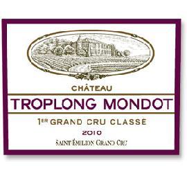 2010 Chateau Troplong Mondot Saint Emilion