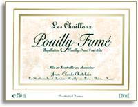 2010 Jean Claude Chatelain Pouilly-Fume Les Chailloux