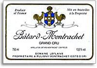 2012 Domaine Leflaive Batard-Montrachet