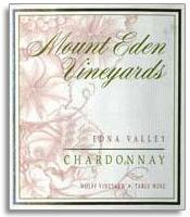 2013 Mount Eden Vineyards Chardonnay Wolff Vineyard Edna Valley