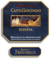 2000 Frescobaldi Brunello Di Montalcino Castelgiocondo Riserva