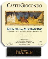 2007 Frescobaldi Brunello Di Montalcino Castelgiocondo