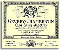 2009 Domaine/Maison Louis Jadot Gevrey-Chambertin Clos Saint-Jacques