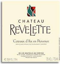 2011 Chateau Revelette Coteaux d'Aix en Provence Rouge