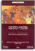 2001 Tua Rita Giusto Di Notri Toscana Rosso