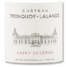 2012 Chateau Tronquoy Lalande Saint-Estephe
