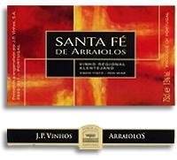 2007 Jp Vinhos Santa Fe De Arraiolos Vinho Tinto Alentejano