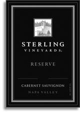 1996 Sterling Vineyards Cabernet Sauvignon Reserve Napa Valley