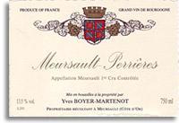 2011 Domaine Boyer-Martenot Meursault Les Perrieres