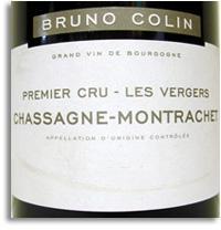 2012 Domaine Bruno Colin Chassagne-Montrachet Les Vergers